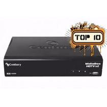 Receptor Digital Hd Century Midia Box Hdtv B2 Com Globo Hd