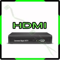 Conversor Digital H D T V Com Função Gravador E Cabo Hdmi