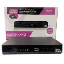 Receptor Elsys Duomax Hd Analógico E Digital + Cabo Hdmi