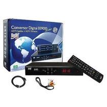 Conversor Digital + Receptor Digital Bs9000 Hdtv Satélite