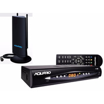 Kit Conversor Tv Digital Aquário Dtv-8000 + Antena Interna