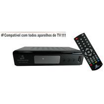 Conversor Receptor De Tv Digital, Usb, Hdmi, Grava E Pausa.