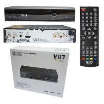 Conversor Digital - Vii7- Hdtv + Mais Cabo Hdmi P/ Tv Tubo