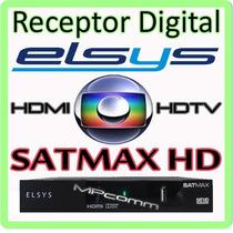 Receptor Digital Parabólica Com Gravador E Função Midiabox