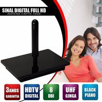Antena Capte Onix Interna Fullhd Hdtv Omnidirecional Digital