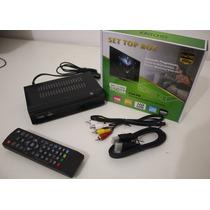 Conversor Terrestre Tv Digital Com Função Pvr Grava Tv