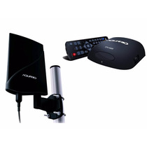 Kit Tv Conversor Digital Hd Antena Externa Amplificada Tv