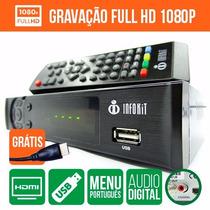 Conversor Digital P/ Tv E Gravador Full Hd Cabo Hdmi San