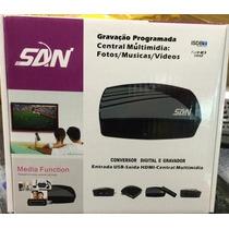 Conversor Digital Full + Função Gravador + Hdmi + Antena Fre