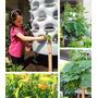 Composteira Vertical Com Horta Para Verduras Orgânicas