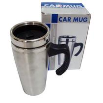 Caneca Car Mug Térmica De Inox 450 Ml Com Tampa P/carro Casa