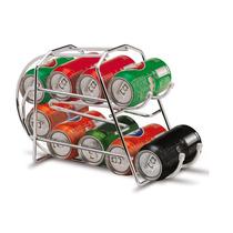Porta Latas Refrigerantes/cervejas/sucos 350ml Aço Cromado