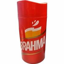 12 X Cervegelas Brahma Litrão Isopor Cerveja Camisinha Supor