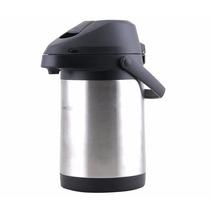Garrafa Térmica Jarra Inteira Aço Inox Lume Inox 3,0 Litros