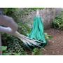 Rede De Balanço Casal Nylon Paraquedas Verde