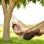 Rede De Dormir E Descanso Camping Nylon Impermeável Marrom