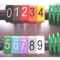 Identificador De Cabos Anilhas Numéricas Kit 500 Peças C/ Nf