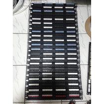 Patch Panel 24 Portas Amp Para Racks 19 - Preto