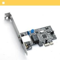 Placa De Rede Pci Express Gigabit 10/100/1000 Low Profile