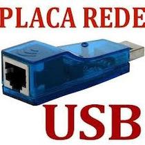 Adaptador Placa Rede Usb Exter Rj45 Ethernet 10/100 Na Caixa