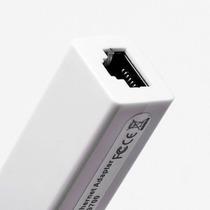 Placa De Rede Usb Para Rj45 Lan Ethernet 10mbps E 100mbps