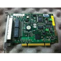 Placa De Rede Nc150t (pci) Gigabit 4 Portas Combo Switch