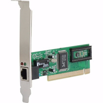 Placa De Rede Pci Rj45 Speedy 10/100 Mbps Original