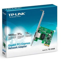 Placa De Rede Gigabit Mini Pci-e Tp-link Tg-3468 10/100/1000