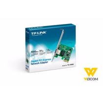 Placa De Rede Gigabit Tp-link Pci Express Tg-3468 1000mbps