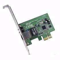 Placa De Rede 10/100/1000mbps Pci Express Gigabit