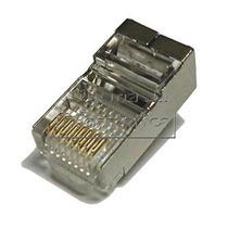 Pacote 20 Conectores Blindado Rj-45 Cat5 Cat6 Rj45 Rede Cabo
