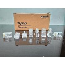 Conector Rj45 Cat 5e - Amp Tyco - Caixa C/ 100 Unidades