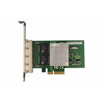 Placa De Rede Pci-e X4 Quad 4 Portas Giga Chipset Intel I350