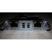 Módulo Cisco Vwic3-2mft-t1/e1 - Novo