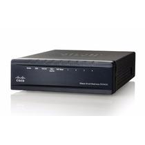Roteador Gigabit Cisco, 2 Portas Wan + 4 Lan + Vpn + Rv042g