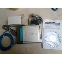 D-link Dsl-500g Generation Iv Com Fio Router Fonte Bivolt