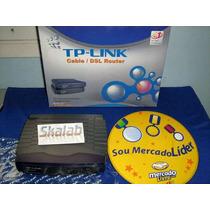 Tp-link R460 Rout Adsl/cable Divida Sua Banda Larga 4 Saidas