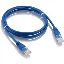 Cabo Rede Patch Cord Rj45 Cat5e 2 Metros Conector Amp Tyco