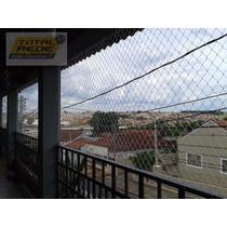 Rede Tela De Proteção Apartamento, Sacada, Janela Com Corda