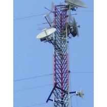 Torres Estaiada Para Provedor De Internet Fm 6 A 60mt