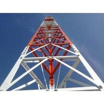 Projeto De Torre Autoportante 24m