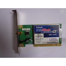 Placa De Rede Wireless D-link Dwl-g520 Frete Fixo 18,00