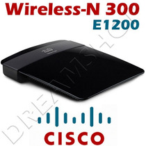 Roteador Wireless-n 300mbps 2.4 Ghz + Cisco/ Linksys E1200