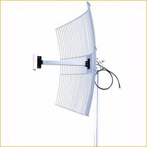Antena Grade Aquário 2,4ghz 20 Dbi Cabo 1 Metro Sma Mm2420f1