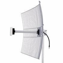 Antena Aquário Internet Grade 25dbi 50w 2.4 Ghz