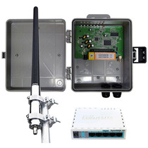 Kit Provedor Profissional 700 Mw + Antena De 15 Dbi + Rb750