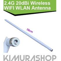Antena Omni 20dbi Para Roteadores Wifi / Wireless Rp-sma