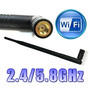 Antena Wireless 21dbi Para Roteador Tp Link Dual Band N750