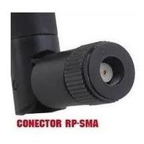 Antena Rp-sma Para Roteador Wifi 18dbi Amplificador De Sinal
