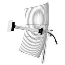 Antena Parabólica Aquario Mm-2420 Grade Internet 20dbi